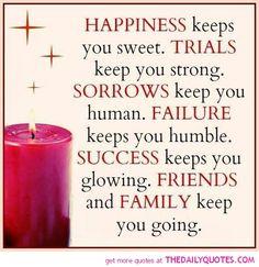 Happiness Keeps You Sweet