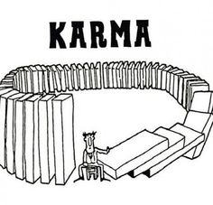 Funny pictures about That's How Karma Works. Oh, and cool pics about That's How Karma Works. Also, That's How Karma Works photos. Citations Karma, Karma Frases, Funny Karma Quotes, Funny Memes, Hell Quotes, Hilarious Jokes, Video Islam, Law Of Karma, Come Around