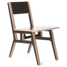 Context Furniture Truss Café Chair Finish: Espresso Brown