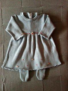Roupa - Vestido p/ saida de maternidade Rococó