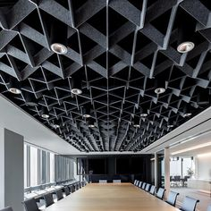 Softgrid series acoustic ceilings products ceiling design, c Ceiling Art, Ceiling Lights, Ceiling Ideas, Acoustic Ceiling Panels, Ceiling Finishes, Acoustic Design, False Ceiling Design, Office Ceiling Design, Wall Design