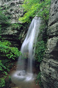 Jackie Falls - Ponca, Arkansas. Photo: Terry Fredrick. This is one of my grandfathers photos