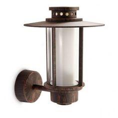 Philips Origin 153208616 roestbruin myGarden wandlamp