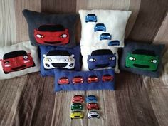 Handmade Miata pillows. If you want to know more, visit our facebook page.