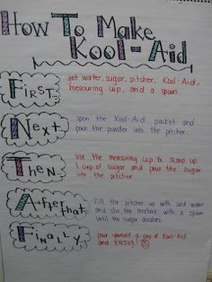 First Grade: How-To Writing