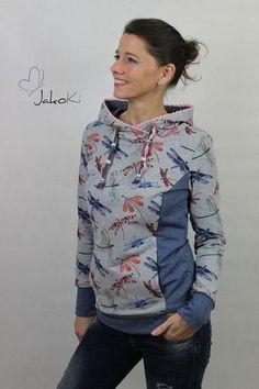 """Patron Sweat à capuche pour femme """"Stina"""" T. 34-54 chez Makerist - Image 3"""
