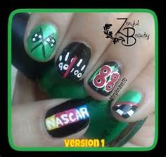 nascar nails designs - Bing Images