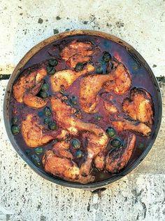 Hunters stew - chicken,  jamie oliver