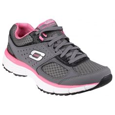 Agility Perfect Fit Trainer Charcoal/Hot Pink
