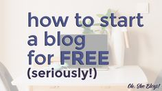 It's a common misconception that you have to spend money to start a blog. Here's the ultimate guide to how to start a blog for free.