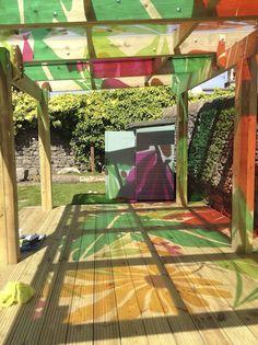 shadow colors installation -- Maisie's Garden 2