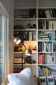 Book shelf goals.