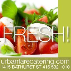 #urbanfarecatering Catering, Social Media, Fresh, Vegetables, Projects, Food, Log Projects, Meal, Catering Business
