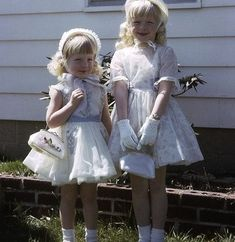 The way it used to be for Easter~new dress, shoes, purse, hat and gloves~remember ?!?