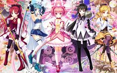 Magica Madoka! to be honest this anime was ok but I never finished it