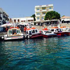 #spetses #port #greece #island #saronikos #summer #summer2014 #boat #taxi #sea #dapia Taxi, Summer 2014, Kos, Greece, Island, Block Island, Islands, Grease
