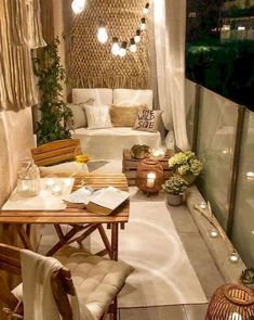 Room Decor Bedroom, Diy Room Decor, Bed Room, Wall Decor, Small Patio Ideas On A Budget, Budget Patio, Patio Decorating Ideas On A Budget, Diy Patio, Diy On A Budget