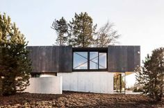 Completed in 2016 in Riehen, Switzerland. Images by Eik Frenzel. Glass, concrete, wood, and metal serve as the basis for drawing rich associations between space, structure, material, and location. What emerges is a...