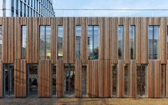 Groupe Scolaire Lucie Aubrac by Dietmar Feichtinger Architects