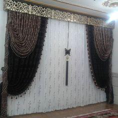 « پرده سرای برکه شعبه 1 کرمان بلوارجهاد نبش کوچه 25 » Black Curtains, Window Dressings, Marrakech, Windows, Home Decor, Blinds, Curtains, Decoration Home, Black Curtain Tracks