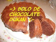 Bolo de Chocolate Dukan (Fase de Cruzeiro)
