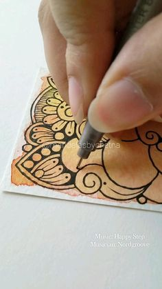 Easy Mandala Drawing, Mandala Doodle, Simple Mandala, Mandala Art Lesson, Mandala Painting, Zen Doodle, Art Drawings Sketches Simple, Pencil Drawings, Sharpie Doodles