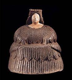 Tocho T8: Documenta 13, o la vida de los objetos (estatuillas femeninas de Bactria, 2500 aC)