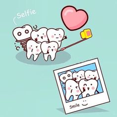 Want to improve your smile but don't want to do anything too permanent? There's a dental solution for you. You can improve your smile with lumineers. Dentist Puns, Dentist Cartoon, Dentist Art, Tooth Cartoon, Teeth Health, Dental Health, Healthy Teeth, Amil Dental, Happy Dental