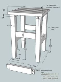 (47) Одноклассники Woodworking Furniture Plans, Diy Pallet Furniture, Small Furniture, Woodworking Projects Diy, Home Decor Furniture, Furniture Projects, Wood Furniture, Wood Shop Projects, Wooden Stools