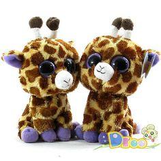 Ty Stuffed Animals with Big Eyes....ERMAHGERD....GERERFFES..?