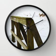 Rådyr Wall Clock by lisnas Wall Clock Frame, Unique Wall Clocks, Natural Wood, Crystals, Store, Design, Storage, Crystals Minerals, Design Comics