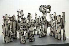 Jean Dubuffet, Skulptur Beast, Jean Dubuffet, Bookends, Decor, Sculptures, Art Pieces, Post War Era, Doodle, Biography