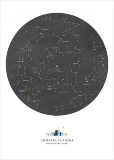 Constellations Map, Sky Map Print by Noemie Cedille - Constellations Map, Sky M. - Constellations Map, Sky Map Print by Noemie Cedille – Constellations Map, Sky Map Print by Noemie Cedille Illustrations, Illustration Art, Constellation Map, Star Constellations, Gifts For Photographers, Space And Astronomy, Freelance Graphic Design, Art Wall Kids, Ravenclaw