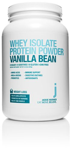 Purchase Vanilla Bean Whey Isolate Protein Powder by Jackie Warner from OpenSky Health and Wellness Shop on OpenSky. Jackie Warner, Acacia Gum, Whey Powder, Organic Quinoa, Spirulina Powder, Barley Grass, Eating For Weightloss, Alpha Lipoic Acid