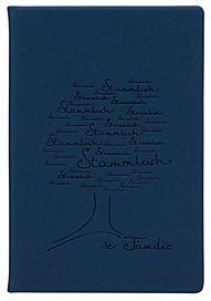 Stammbuch Albero, blau Thermomaterial Blindprägung Baum Größe: 21 x 15 cm 27,00 Euro
