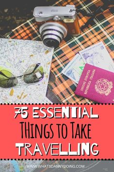 Are you planning to take a trip soon? The packing phase is all-important! The last thing you want to do is forget anything. Wondering exactly what you need to take travelling? Check out this comprehensive travel packing checklist for 75 essential things to take on a trip!!  #Travelling #Travelpacking #Packinglist #Thingstotakeonatrip #vacation #vacationpackinglist #whattotaketravelling #travelchecklist #travellingchecklist Packing Tips For Vacation, Travel Packing Checklist, Travel Essentials, Travel Advice, Travel Tips, Travel Destinations, Packing Light, Best Places To Travel, Business Travel