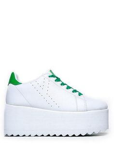 LALA - GREEN/WHITE