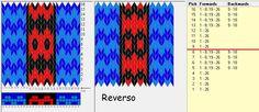 26 tarjetas, 4 colores, repite cada 8 movimientos// sed_1096 diseñado en GTT༺֍