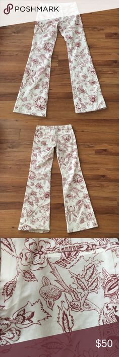 Isabel Marant Loko Jeans Floral print jeans - classic Isabel Marant. Like NEW - pockets still sealed and everything. Wish they fit me - they are a Euro 34, which I believe is a US 0-2. Isabel Marant Jeans