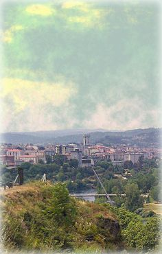 Vista de Ourense desde Velle - Vista de Ourense dende Velle