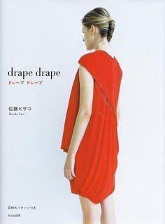 DRAPE DRAPE DRESSES - Japanese Craft Pattern Book. $31,00, via Etsy.