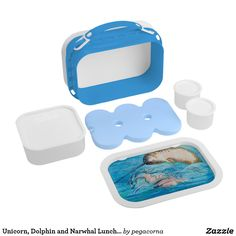 Unicorn, Dolphin and Narwhal Lunchbox