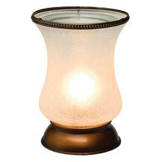 WHITE CRACKLE TULIP SHADE  A soft glow shines through a crackled surface in this graceful Tulip Shade.  Was $ 48.00 NOW $ 38.40 CLOSEOUT Visit https:// www.roselynn.scentsy.ca