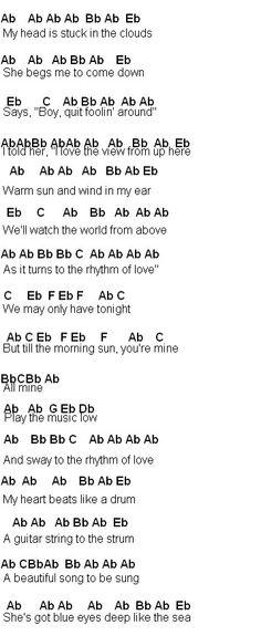 Rock A Bye Baby Lyrics | ... , lyrics with chords for guitar, banjo ...