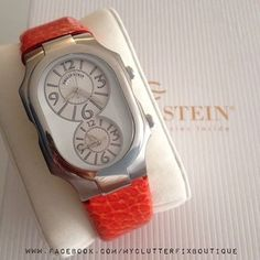 Philip Stein Watch. 2 time zone. Good for traveling