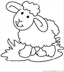 Free Printable Pictures of Sheep free printable coloring page