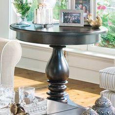 Paula Deen Home Round End Table - Home Furniture Showroom