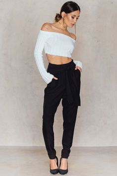 Knot Suiting Pants - Buy online | NA-KD