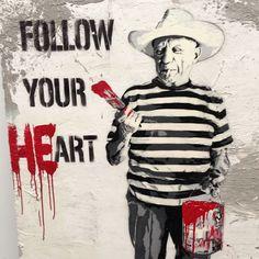 Follow your heart #ArtQuote #Quote #Liquitex @Liquitex