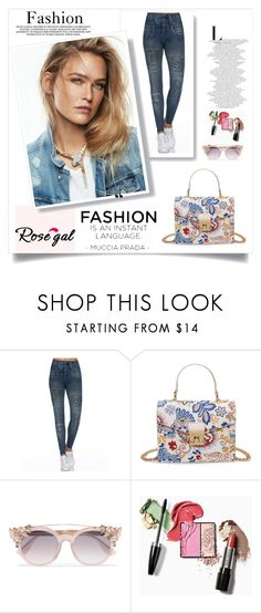 """""""Rosegal 18"""" by melodibrown ❤ liked on Polyvore featuring Jimmy Choo"""
